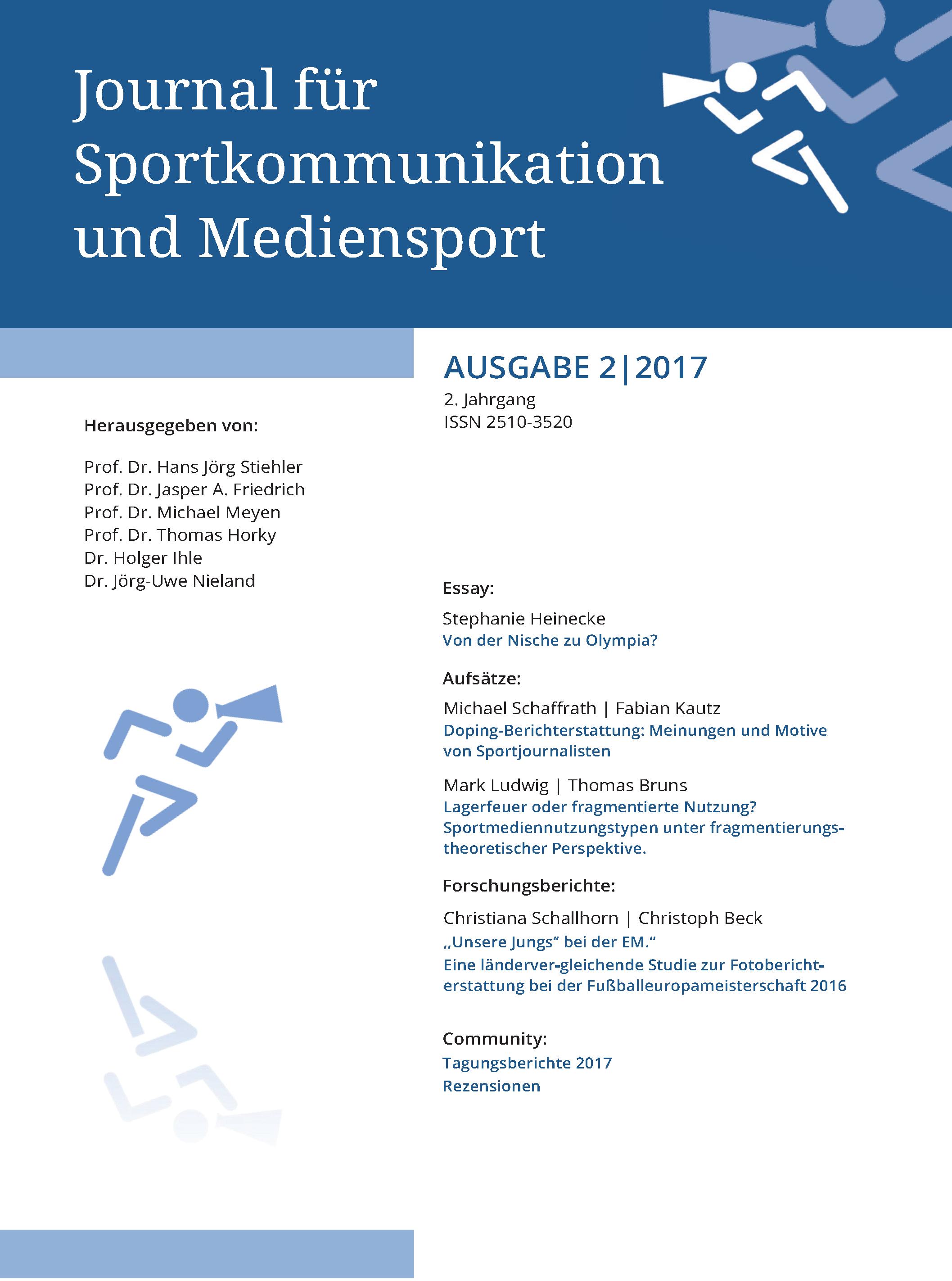Ansehen Bd. 2 Nr. 2 (2017)